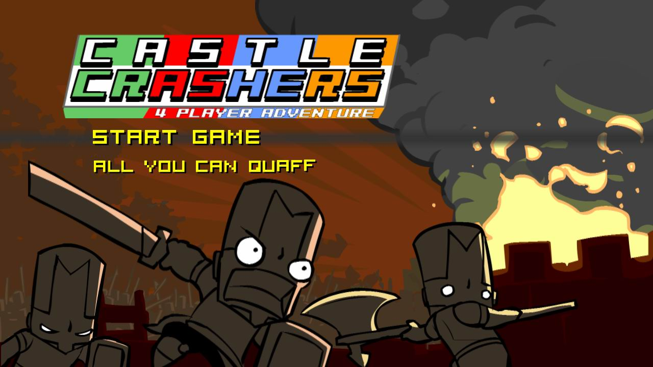 castle crashers gamers with jobs