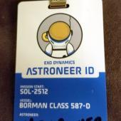 PAX West 2018 - Astroneer Badge
