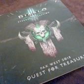 PAX West 2018 - Diable III Quest for Treasure booklet