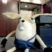 PAX West 2018 - My Brother Rabbit plushie