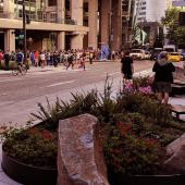 PAX West 2017 - Opening Queue Overflow under the WSTCC down the street