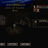 Diablo II Character Selection