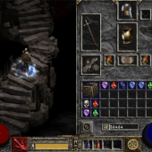 Diablo II Inventory Screen