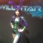 Aurin cosplay from Wildstar