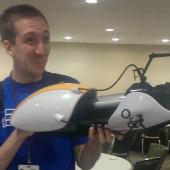 Portal Gun from the Think Geek booth
