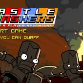 Castle Crashers Title Screen at Gamers with Jobs