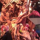 Defiance booth setpiece