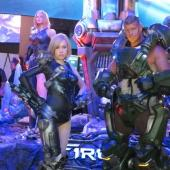 Firefall Cosplayers