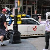 The Ghostbusters ain't afraid of no zombies....