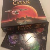 Star Trek Catan and supplemental world sheet