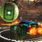 Rocket League Ball and Fans