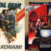 MEtal Gear and Nobunaga's Ambition NES