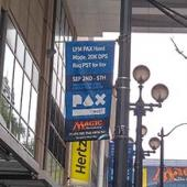 PAX West 2016 - Welcome Sign