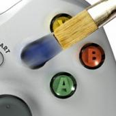 Controller paintbrush pic, by CY.