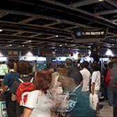 Panoramic view of the PAX 2007 Expo Hall taken by Lord Moon