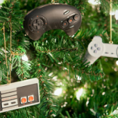 Ornaments available at ThinkGeek