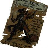 Cap'n Stinky's Dill-Pickle-Flavored Beef Jerky