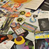 PAXEast 2015 - some of the pile of game info I need to sort through