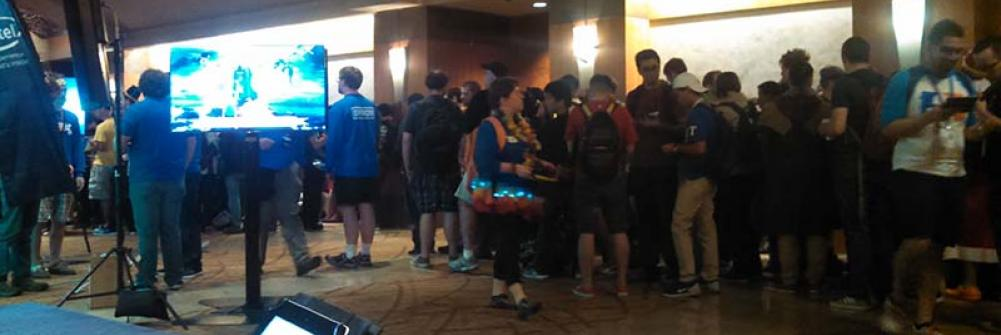 Line to Get into Keiji Inafune's Panel at PAX Prime 2015