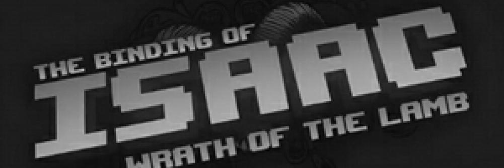 The logo for The Binding of Isaac: Wrath of the Lamb.