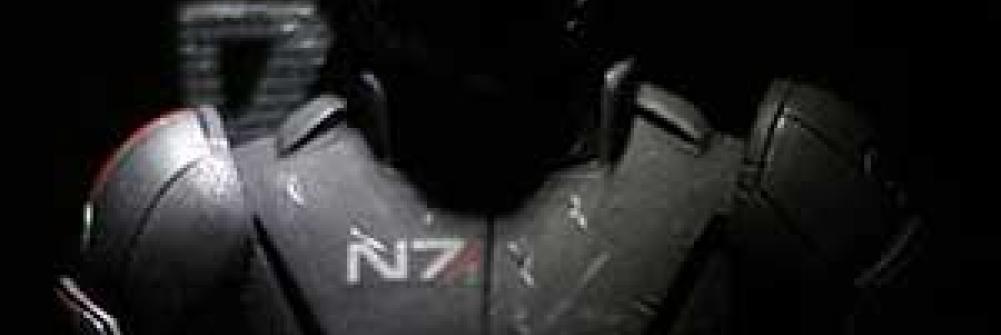 Shepard in N7 armor