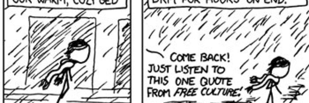 XKCD In the Rain